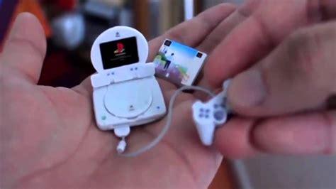Mini Play Station Ps One Funcionando Youtube