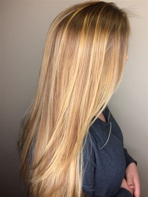 Golden Colored Hair by Honey Golden Hair Balayage
