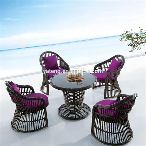 black rattan outdoor furniture garden treasure classics