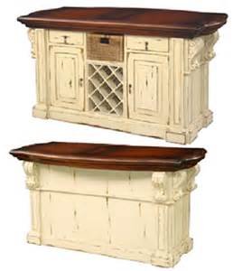 antique kitchen island kitchen island cottage antique distressed country corbels ebay