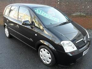 Used Black Vauxhall Meriva 2004 Diesel 1 7 Cdti Enjoy 5dr