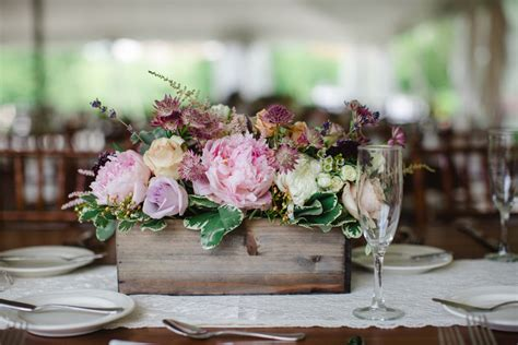 7 Planter Boxes To Use For Your Rustic Wedding Reception