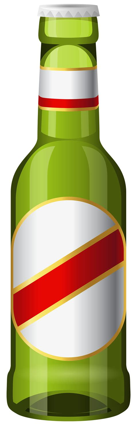 beer bottle green png clipart  web clipart