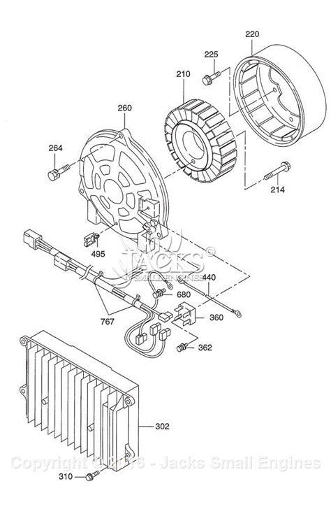 robin subaru r1700i parts diagram for generator