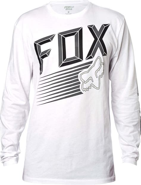 fox motocross t shirts fox racing mens efficiency long sleeve motocross t shirt