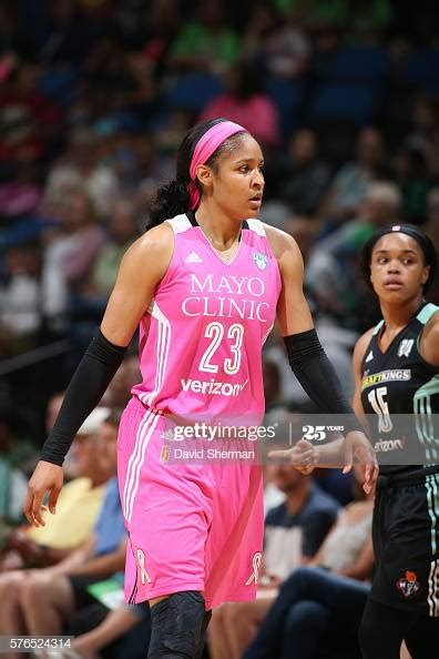 Maya Moore of the Minnesota Lynx reacts to a play against ...