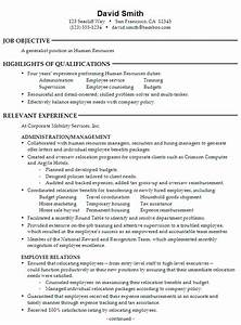 resume for a generalist in human resources susan ireland With human resources resume