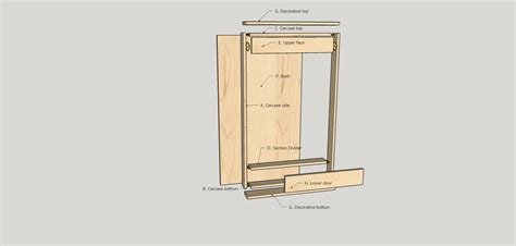 Dart Board Cabinet Dimensions build a simple dartboard cabinet woodworkers guild of