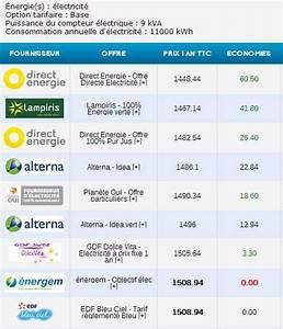 Comparatif Tarifs électricité : economiser sur la facture d 39 lectricit en changeant de fournisseur ~ Medecine-chirurgie-esthetiques.com Avis de Voitures