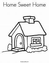 Coloring Pages Sweet Colouring Roof Cottage Printable Homes Welcome Sheets Getcolorings Worksheets sketch template