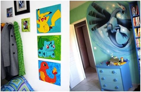 cool pokemon bedroom ideas