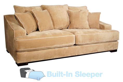 Microfiber Queen Sleeper Sofa by Cooper Microfiber Queen Sleeper Sofa
