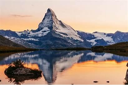 Matterhorn Famous Mountain Switzerland