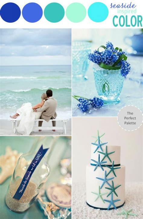 beach wedding color theme   sea inspire  choice