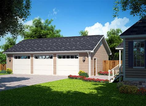 3 Car Garage Plans From Design Connection, Llc House
