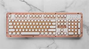 Azio, Rose-gold, Keyboard