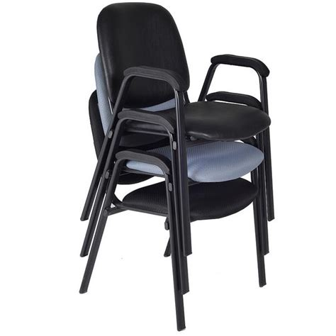 regency 2125l ace padded stacking arm chair vinyl