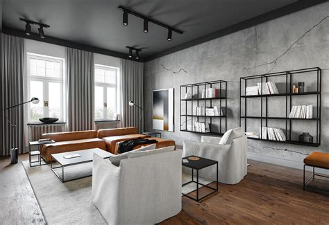 sophisticated industrial style homes