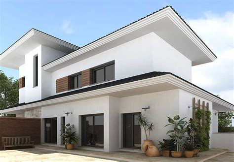 Home Design Exterior by Western Style House Exterior Designs