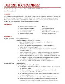 business resume exles business sle resumes