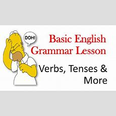 Basic 1 English Grammar Lesson  Beginner, Preintermediate And Intermediate Levels Youtube