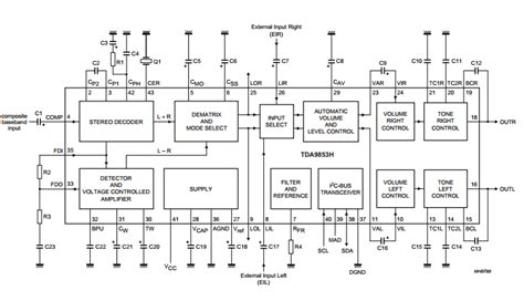 Stereo Decoder Audio Processor Amplifiercircuits