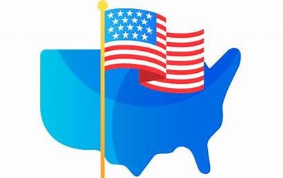 Patriotic America State Carolina 10th Study South