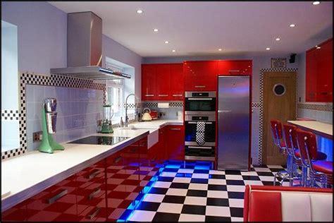 cuisine americain cuisine vintage style 50 39 s americain modern home design