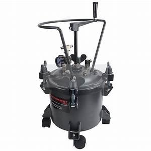 Paint Pressure Tank 10 Litre Manual Agitator
