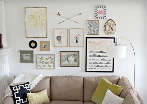 Modern Gallery Wall   Modern   Living Room   Houston   by
