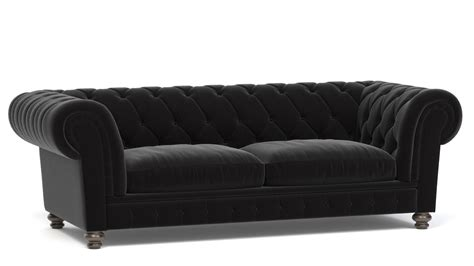 Divano Chesterfield 3ds Max : 3d Chesterfield Sofa Model