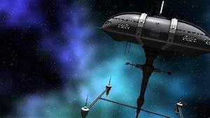 Animation Of A Futuristic Space Ship And Warriors Stock ...