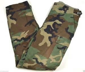 Army Woodland Camo BDU Pants