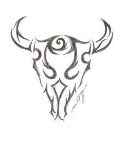 bull design fantastic bull skull design tattoobite