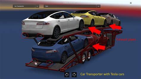 car transport trailer tesla modelling error fixed