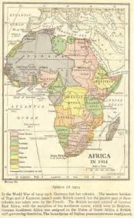 Africa Imperialism Map 1914