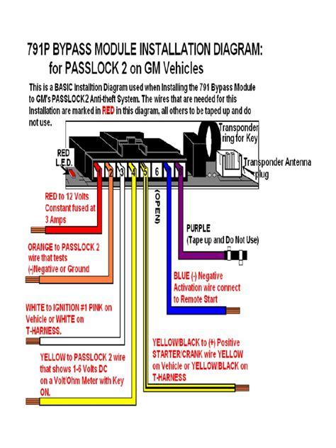 Passlock 3 Bypass Resistor