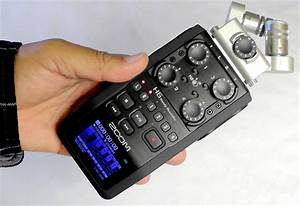 Zoom H6 Handy Recorder - superb 6 track audio recorder in ...