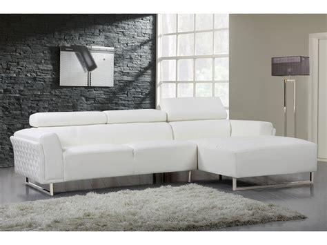 canapé d angle blanc cuir canapé d 39 angle cuir reconstitué pvc quot broadway quot 4 places