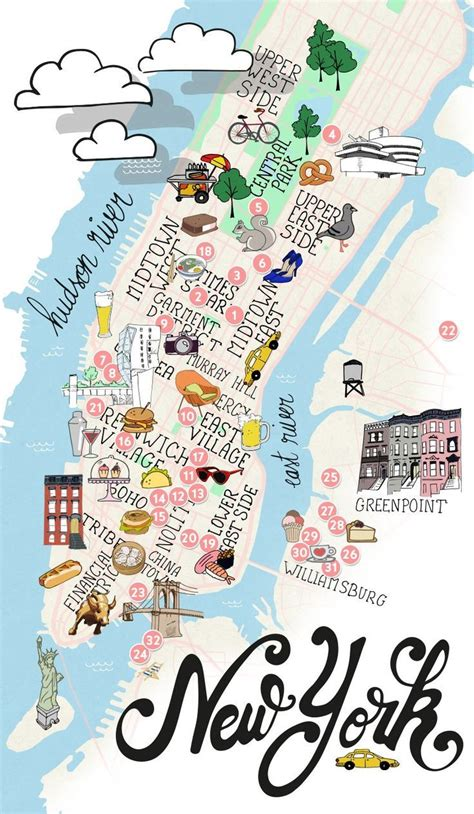 york maps ideas  pinterest ny map map