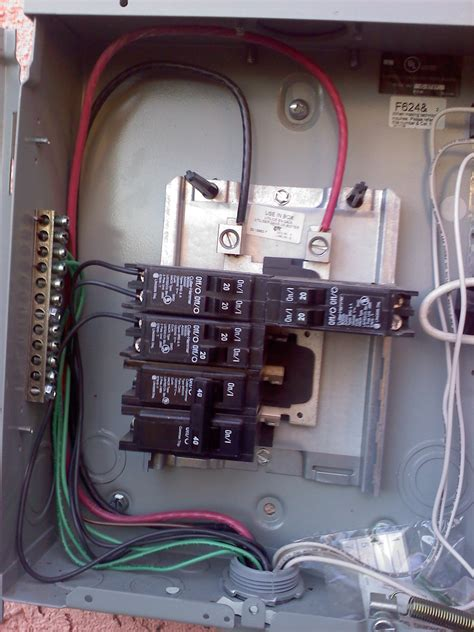 Electrical Can Feed Sub Panel From