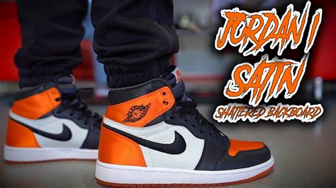 Air Jordan 1 Satin Shattered Backboard Review And On Foot