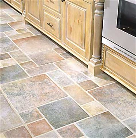types of floor coverings for kitchens residential flooring types