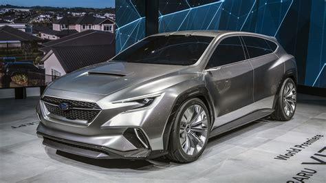 subaru viziv tourer concept previews  wrx wagon autoblog
