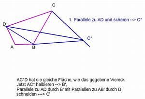 Fläche Berechnen Viereck : parallelogramm trigonometrie viereck in fl chengleiches parallelogramm verwandeln suche a ~ Themetempest.com Abrechnung