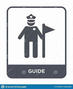 Guide Icon In Trendy Design Style  Guide Icon Isolated On
