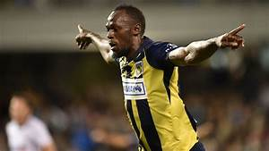 Usain Bolt Goal Video  Scores Twice In Pro Soccer Game