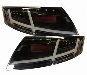 Audi Tt 8j 3 Bremsleuchte : voll led r ckleuchten audi tt 8j 06 14 schwarz 8s optik ~ Kayakingforconservation.com Haus und Dekorationen