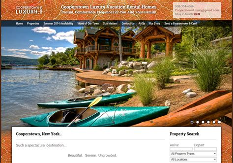 Vacation Rental Website Builder  Function Facts And Feeling