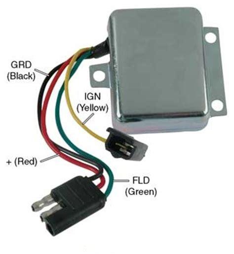 transpo voltage regulator wiring diagram delco alternator